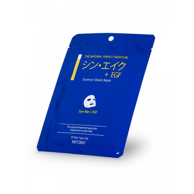 MITOMO näomask Syn-Ake & EGF Essence Mask (25g)