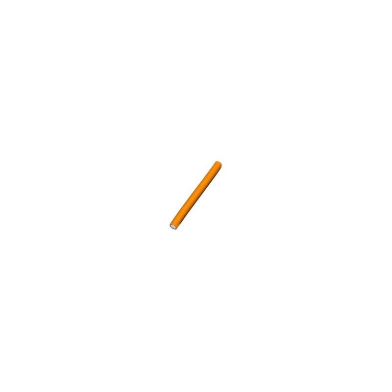Bravehead lühikesed papiljotid 18 cm, Ø 16mm, oranž, 12tk