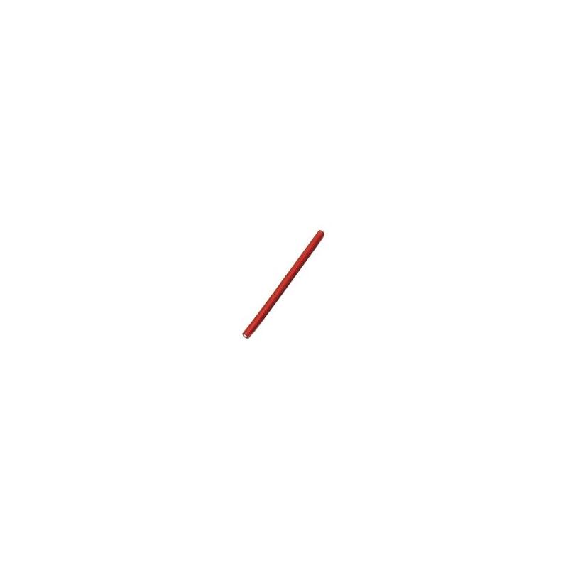Bravehead длинные папильотки 25 см, Ø 12 мм, красные