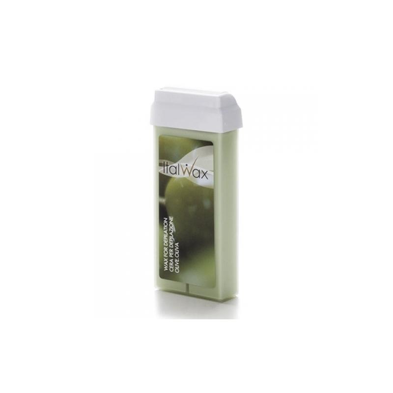 Italwax воск с повышенной плотностью, 100 мл, Olive