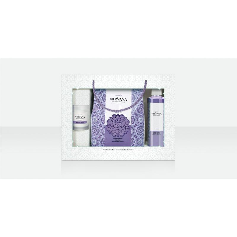 Kinkekomplekt SPA depilatsiooni jaoks, Lavendel