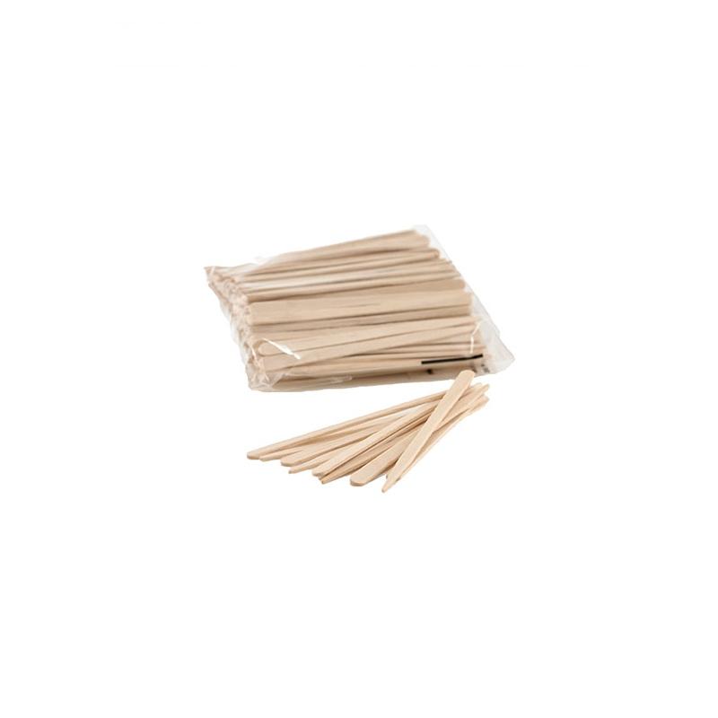 Маленькие шпатели для депиляции бровей, 100 шт