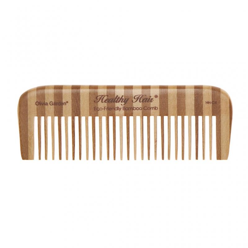 "Olivia Garden Bambusest kamm ""Healthy Hair Comb C4"""