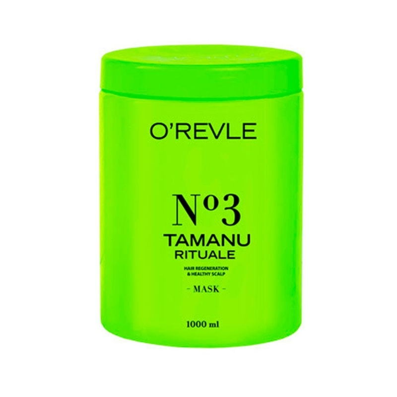 O'REVLE TAMANU RITUALE No3, Mask 1000 ml