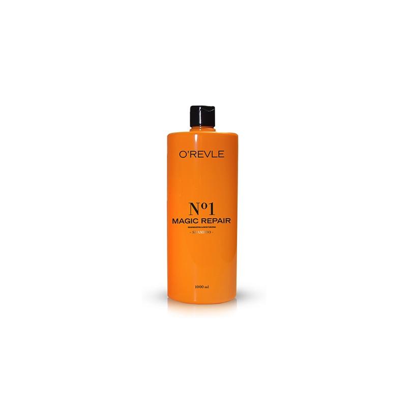 OREVLE MAGIC REPAIR No1, Увлажняющий шампунь для ослабленных/поврежденных волос, 1000мл