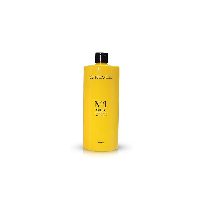 OREVLE SILK No1, Смягчающий шампунь для сухих волос, 1000мл