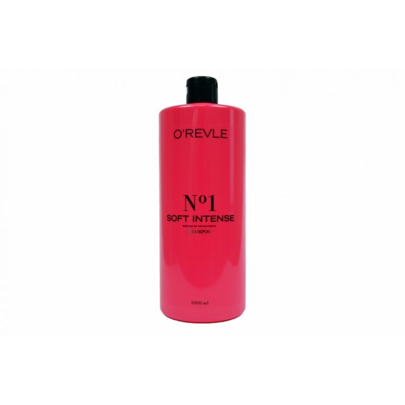 OREVLE SOFT INTENSE No1, Регенирирующий шампунь для поврежденных волос, 1000мл