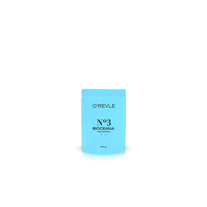 OREVLE BIOCEANA No3, Восстанавливающая маска для повреждённых/жирных волос, 1000мл