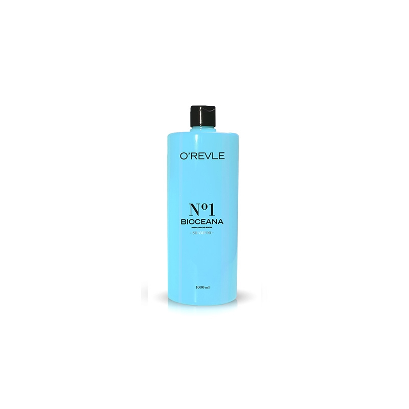 O'REVLE BIOCEANA No1, Taastav Shampoon, kahjustatud/rasvastele juustele, 1000ml