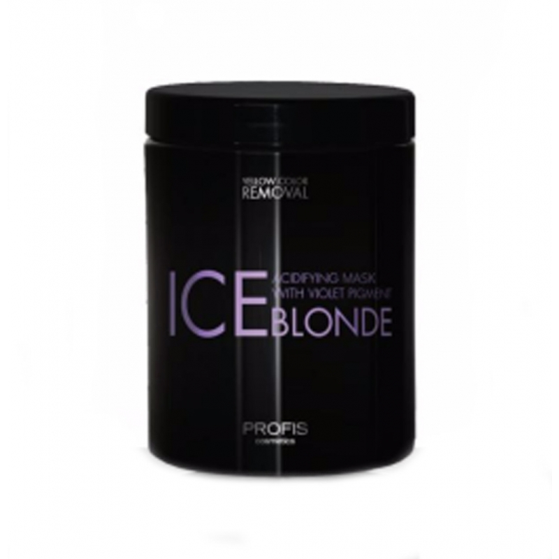 PROFIS ICE BLONDE violetne hooldav mask blondidele juustele,  1000ml