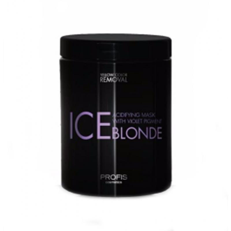 PROFIS ICE BLONDE Фиолетовая маска для блондинок,  1000ml
