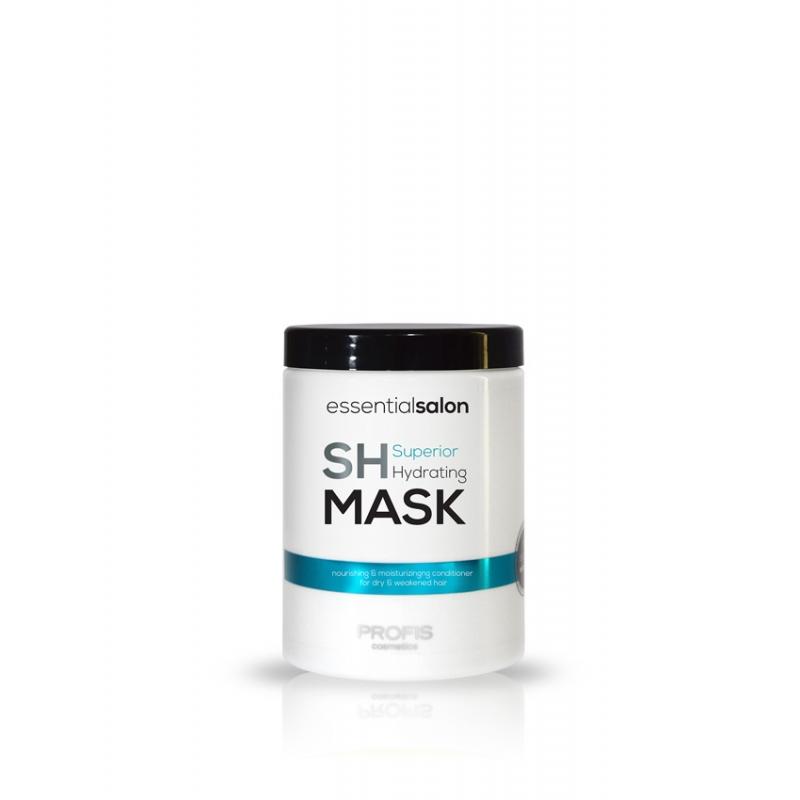 PROFIS ESSENTIAL SALON HYDRATING MASK Увлажняющая маска с фруктовыми экстрактами, для сухих и ослабленных волос, 1000 мл