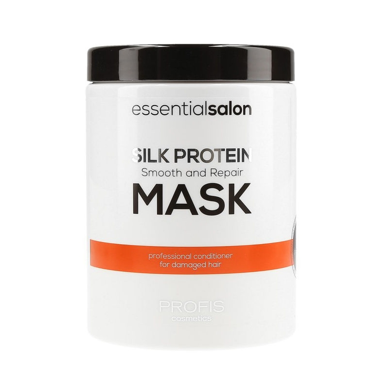 PROFIS ESSENTIAL SALON SILK PROTEIN Восстанавливающая маска с протеинами шёлка, для всех типов волос, 1000 мл