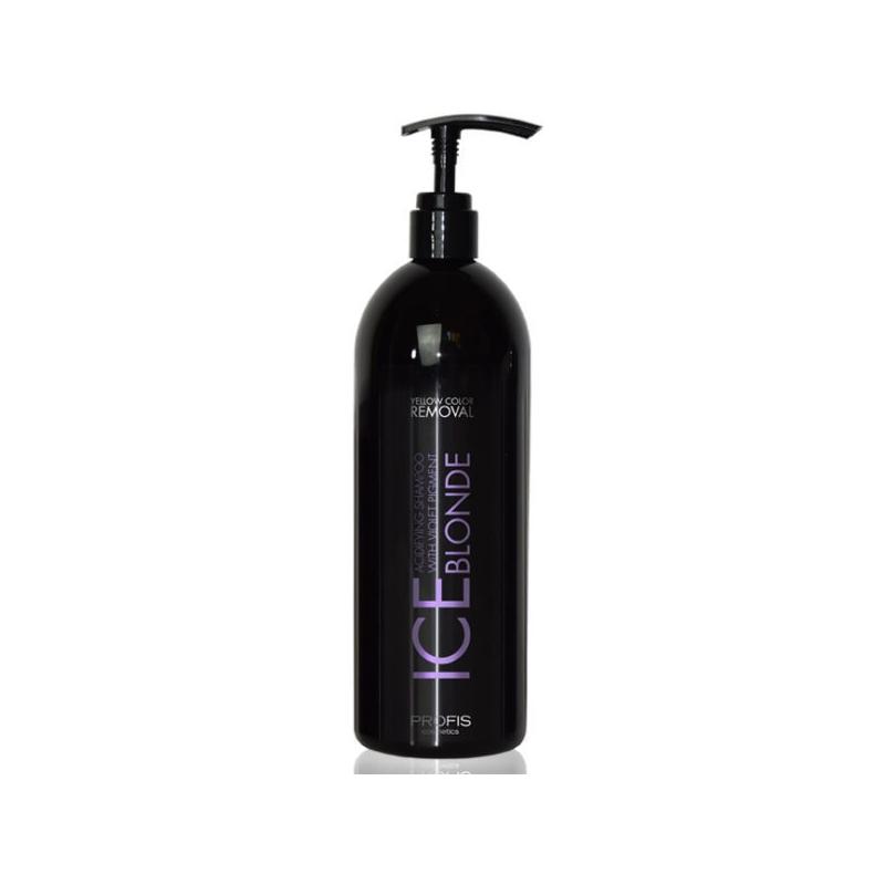 PROFIS ICE BLONDE violetne šampoon blondidele juustele, 1000ml
