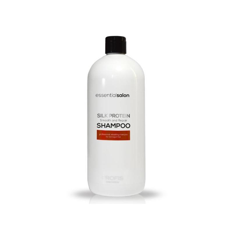 PROFIS ESSENTIAL SALON SILK PROTEIN SHAMPOO Восстанавливающий шампунь, для всех типов волос, 1000 мл