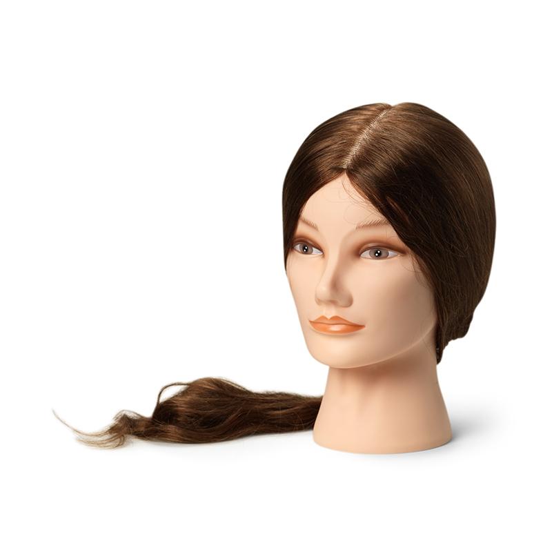 Тренировочный манекен с натуральными волосами, XL (55-60 cm)