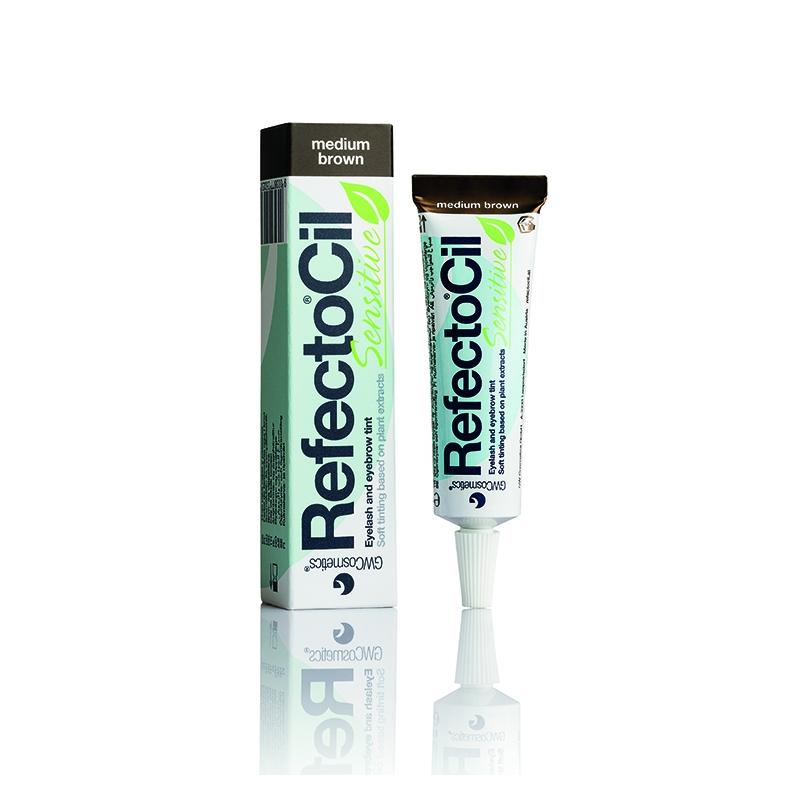 Краска для бровей и ресниц RefectoCil Sensitive  коричневая