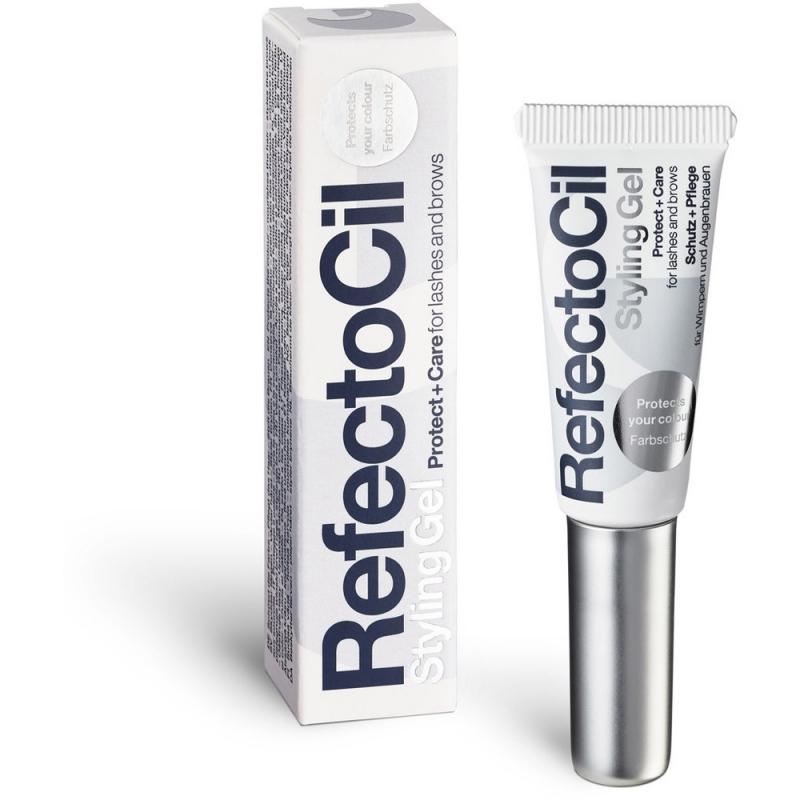 RefectoCil Styling Gel Фиксирующий и ухаживающий гель для бровей и ресниц , 9ml