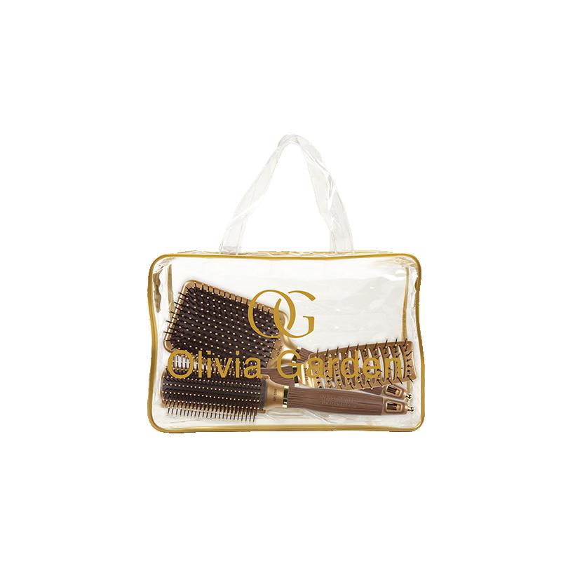 Olivia Garden fööniharjade komplekt Olivia Garden Styler Bag