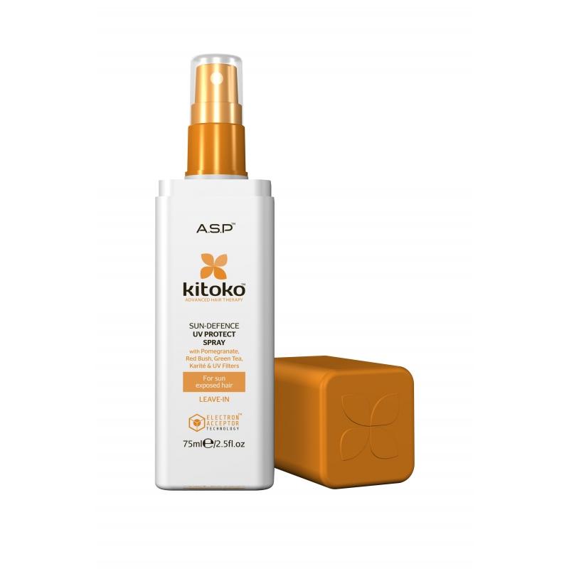 Kitoko Sun Defence защищающий UV спрей для волос  75ml