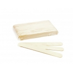 "ItalWax wooden spatulas ""LARGE"", 60 pcs"
