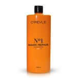 O'REVLE MAGIC REPAIR No1, Niisutav Shampoon, nõrkadele/kahjustatud juustele, 1000ml