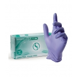 "SEMPERCARE NITRILE ALOE GLOVES ""S"" 6/7"