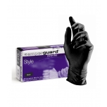 SEMPERGUARD  POWDER FREE NITRILE GLOVES, 100 PCS, S SIZE