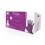 Ro.ial purple nitrile gloves, 100 pcs, S SIZE