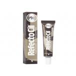 Krāsa skropstām un uzacīm RefectoCil (brūna)